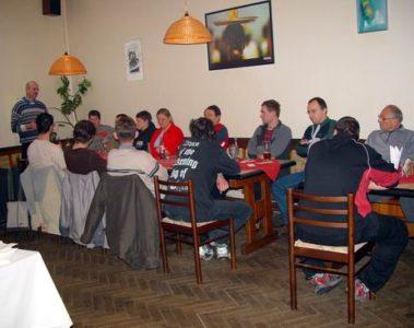 Schůze členů 2005