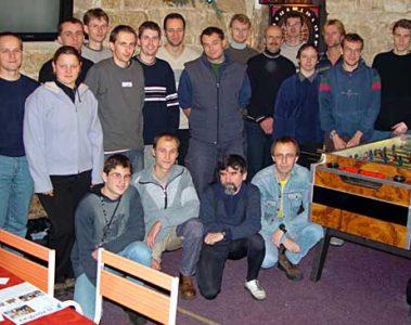 Schůze členů 2003