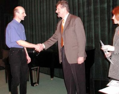 Předávání děkovných listů v Jaroměři 2004