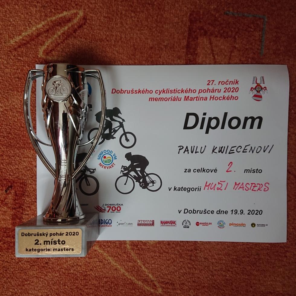 Pavel Kwiecien 2. místo v kategorii Masters