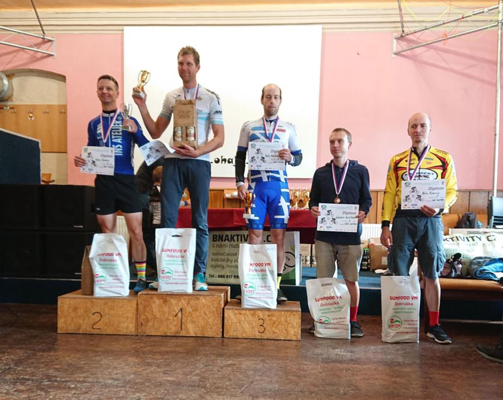 Pavel Kwiecien 3. místo v kategorii Masters
